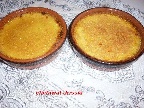 Crème brûlée citron-vanille
