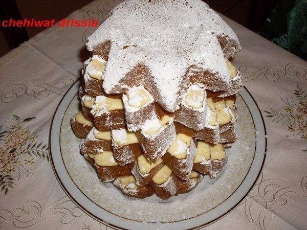 Gâteau gourmand (forme sapin)