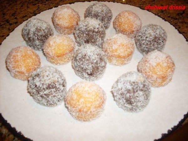 muffins chocolat et citron